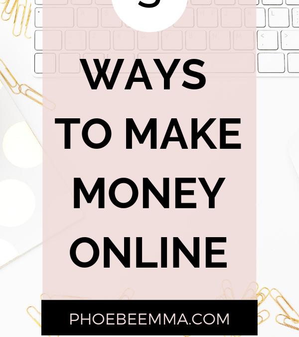 5 Successful Ways To Make Money Online