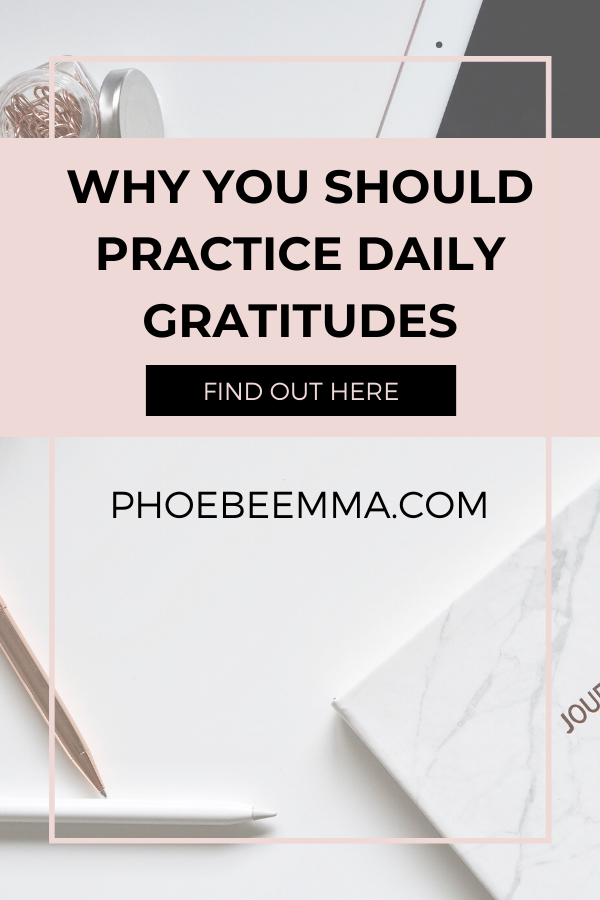 Why you should practice daily gratitudes